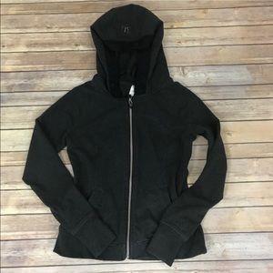 🔥SALE Lululemon zip jacket ruffle hood pockets